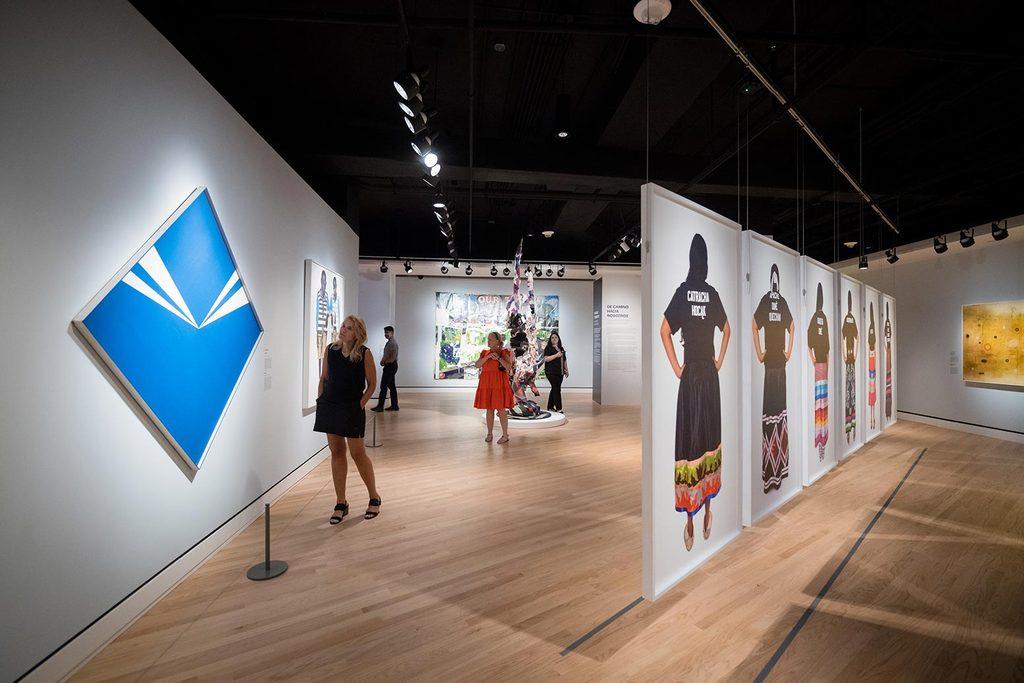 Crystal Bridges at 10 exhibition