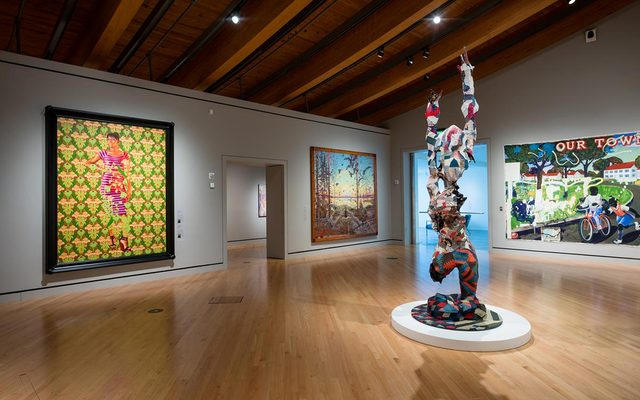 Modern and contemporary art in Crystal Bridges Gallery 6