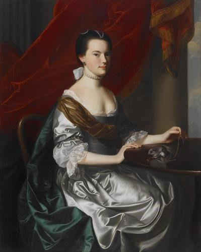 Mrs. Theodore Atkinson Painting
