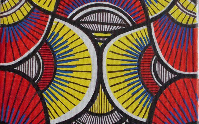 Oluwatobi Adewumi geometric artwork painting