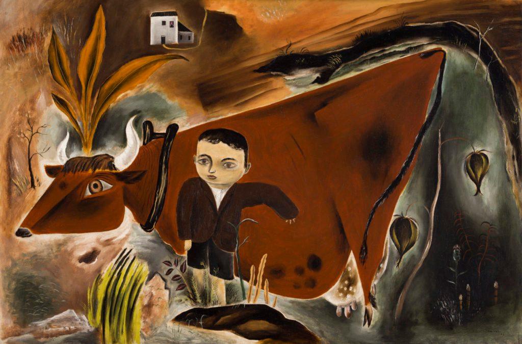 Yasuo Kuniyoshi, Little Joe with Cow