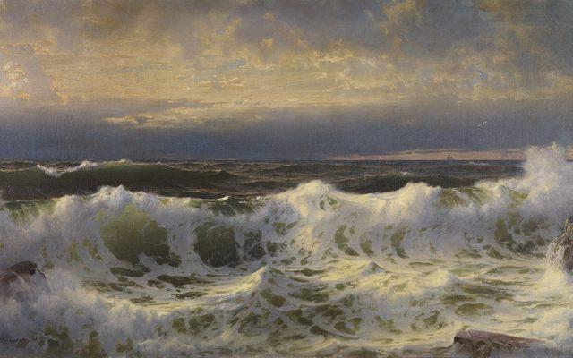 William Trost Richards, Along the Shore