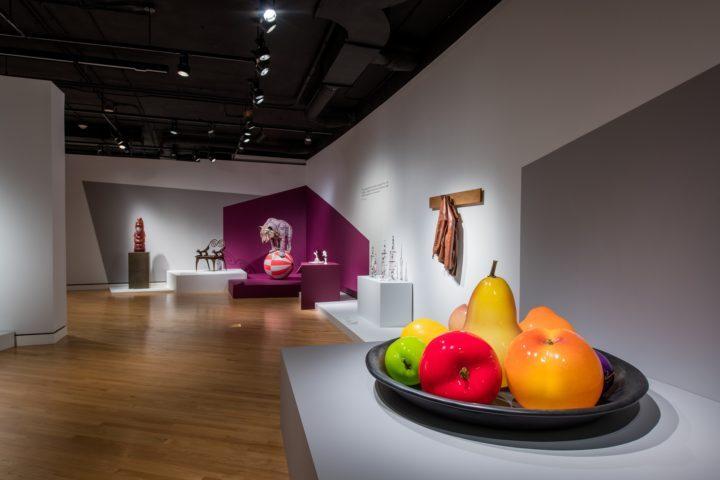 Crafting America exhibition installation