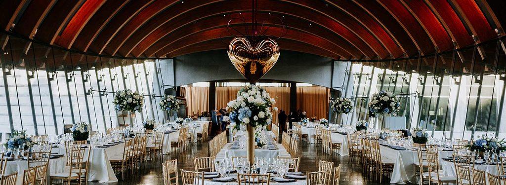 Valentine's Day reception at Eleven restaurant