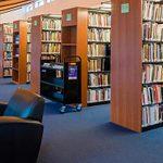Crystal Bridges library interior