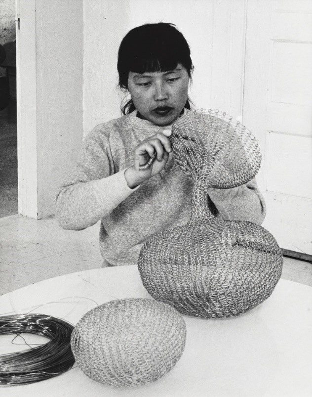 Ruth Asawa and Her Wire Sculpture 2