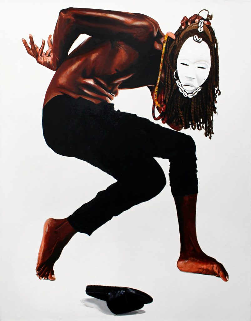 Fahamu Pecou (American, born 1975) Dobale to the Spirit