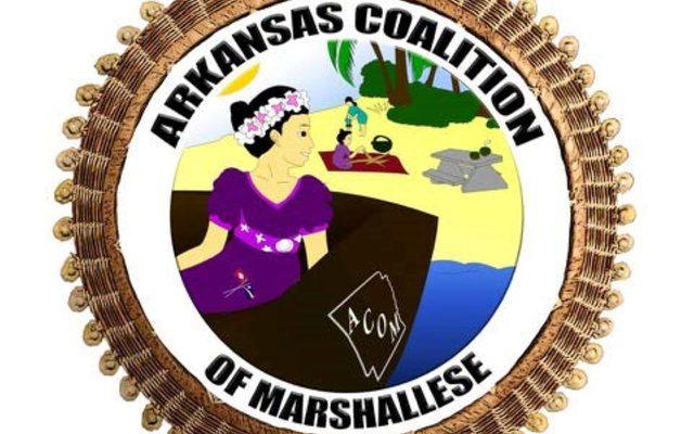 Arkansas coalition of Marshallese logo