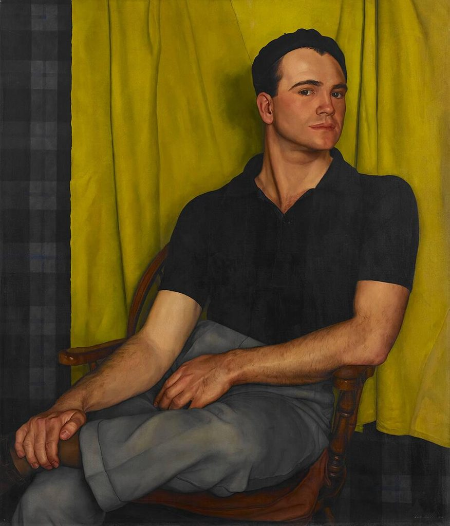 Portrait of Bob by Luigi Lucioni