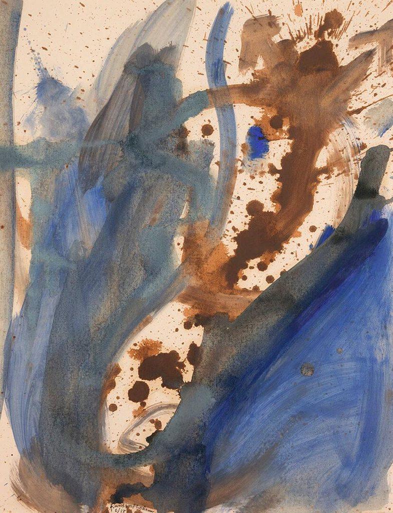 The Bullfight by Helen Frankenthaler