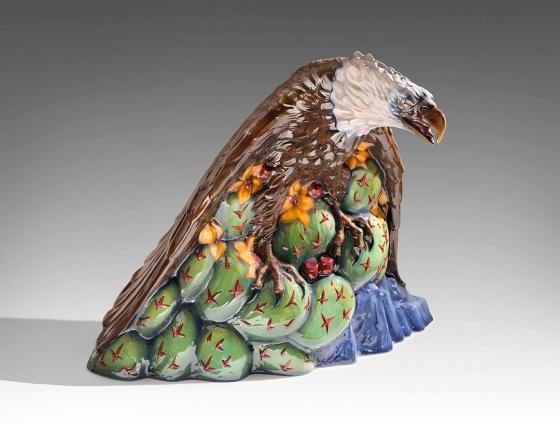 Eagle by Luis Alfonso Jimenez