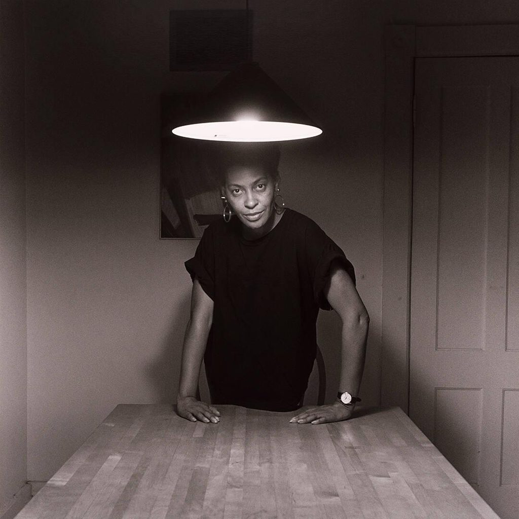carrie mae weems woman standing