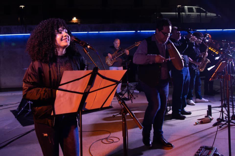 Latin music group La Fiesta