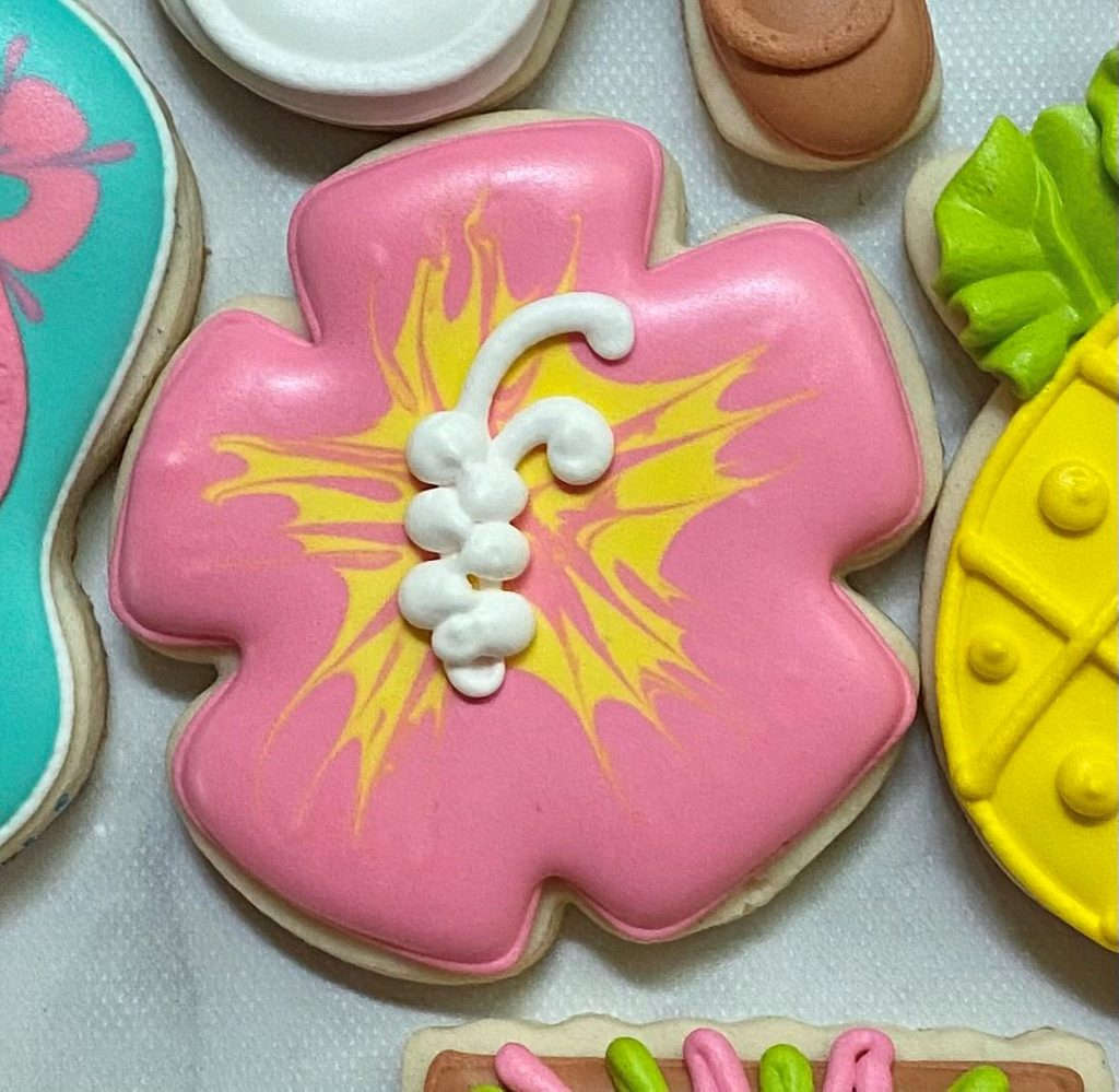 Liz Krauft ABTG floral cookies
