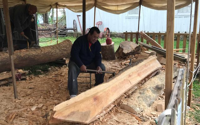 Marshallese Canoe Carving